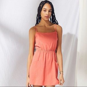 Coral Urban Outfitters dress
